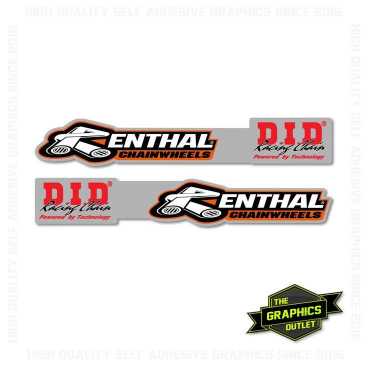 UNIVERSAL MOTOCROSS SWINGARM GRAPHICS SET - STYLE 1 - AVAILABLE IN PEE WEE / YOUTH / ADULT SIZING