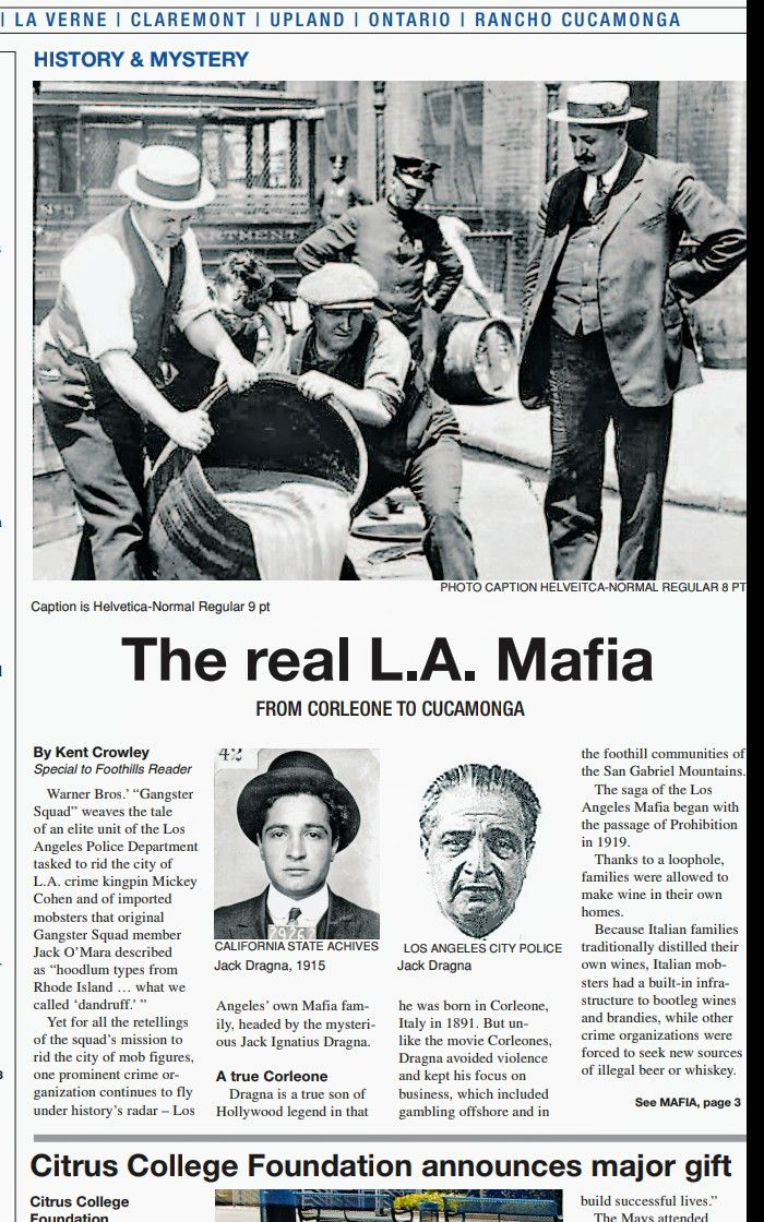 Pin By Los Angeles Historical Society On L A Cosa Nostra In 2020 Mystery Of History La Verne San