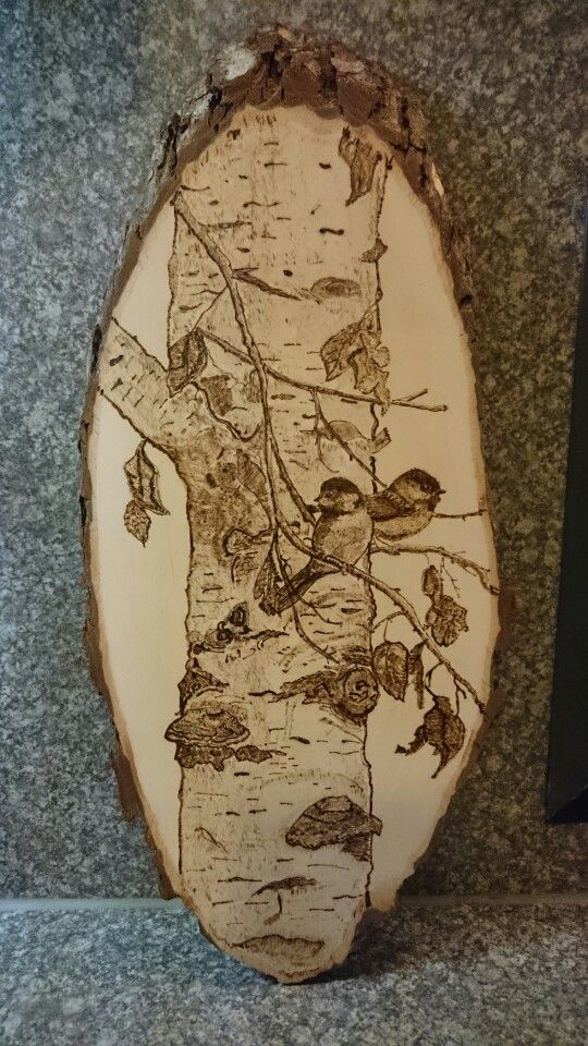 Pyrography woodburning B.A.