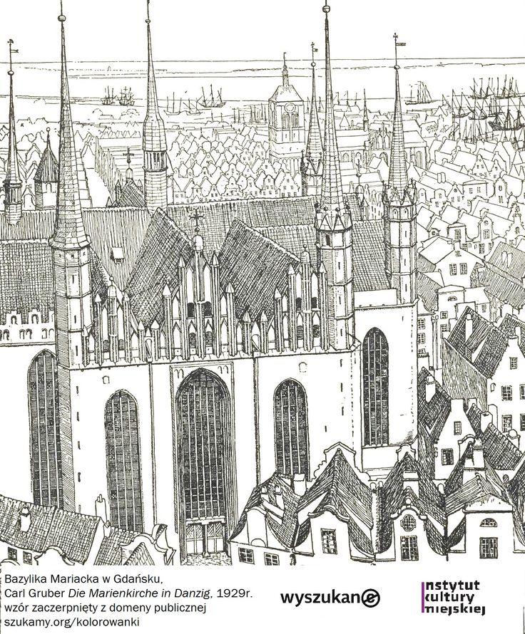 #wyszukane #kolorowanki #gdansk, #mariacki http://szukamy.org/kolorowanki