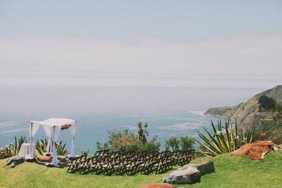 Rustic Big Sur wedding   Coastal wedding   100 Layer Cake