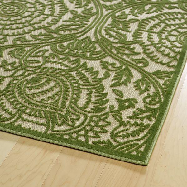 luka green zen rug 3u002710 x