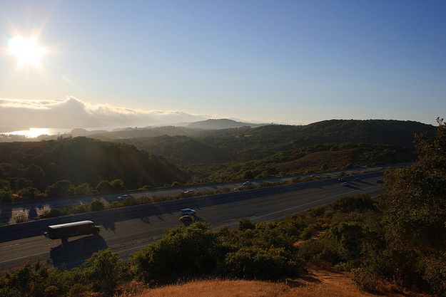 280.   Community Post: 26 Awesome Things The Bay Area Does Right Every Bay Arean knows that taking 101 is faster, but 280 is so pretty it's worth the time.
