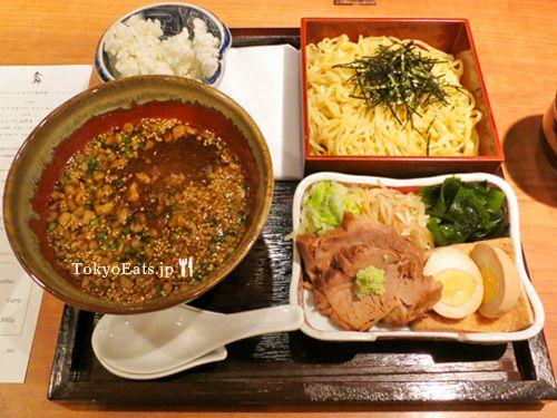 Shokkan — 食幹 http://www.tokyoeats.jp/shokkan/ #tokyo #shibuya #tsukemen #ramen 1000 yen!