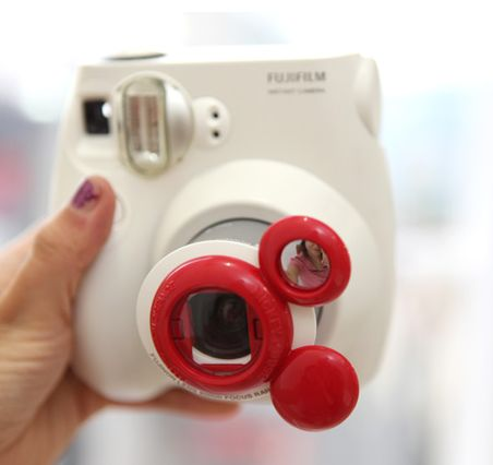 Instax! and Mickey Mouse!  If only it wasn't such an expensive little gadget!