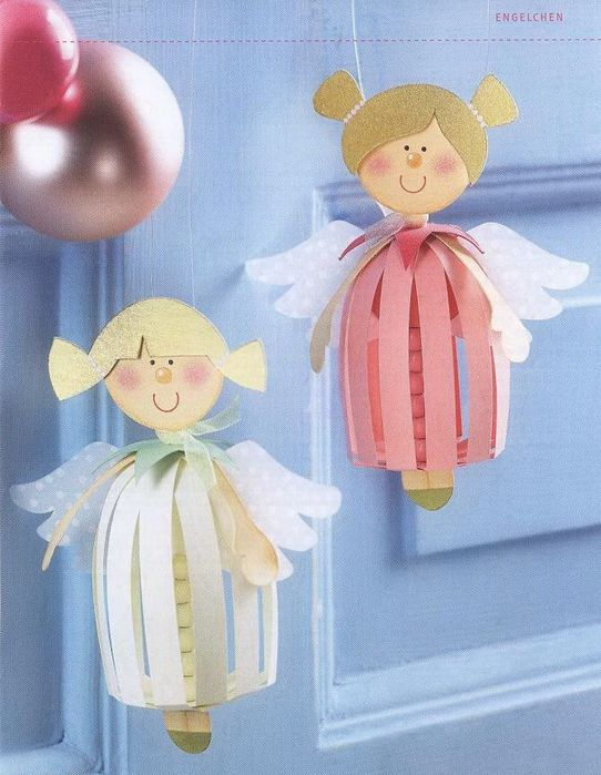 Engelchen als Weihnachtsdeko
