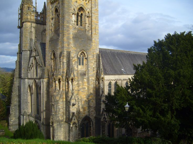 Llandaff Cathedral near Cardiff