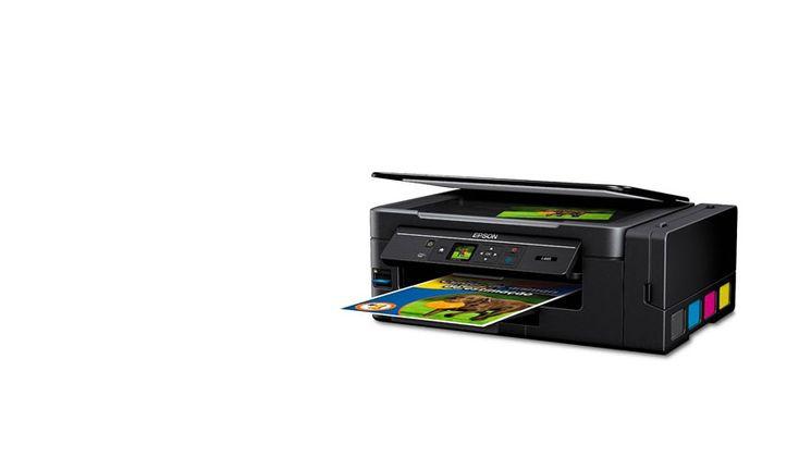 Las impresoras con tecnología EcoTank de Epson permiten simplificar la vuelta a clases imprimiendo una cantidad importante de hojas a color y blanco y negro.