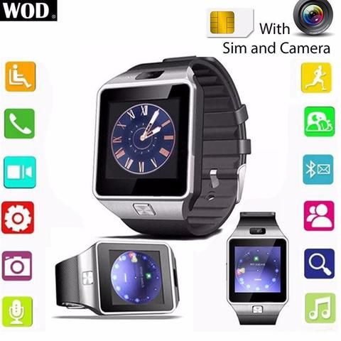 Bluetooth Smart Watch With SIM Compatibility - This watch is Bluetooth 3.0. All functions support android smart phones. But for iphone, it not only supports answer & call, phone book, music play, camera, clock, pedometer, phone anti-lost alert, It also supports SMS, Radio, remote camera control, sleep monitoring, etc. Click Visit For Today's Deals Whilst Stocks Last! #BigStarTrading.