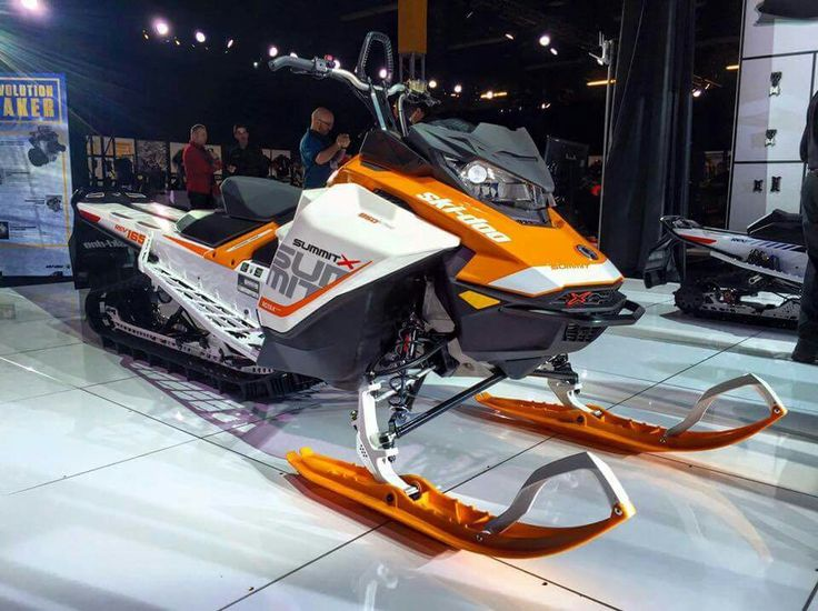 Hot Bikes Sled Cat Snowmobiles Skiing