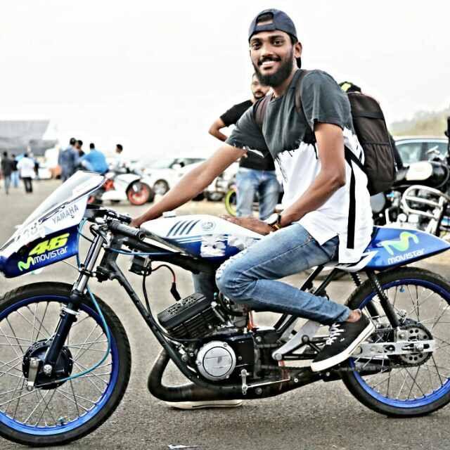 Drag bike rx goa yamaha rx pinterest goa bikes and for Yamaha drag bike