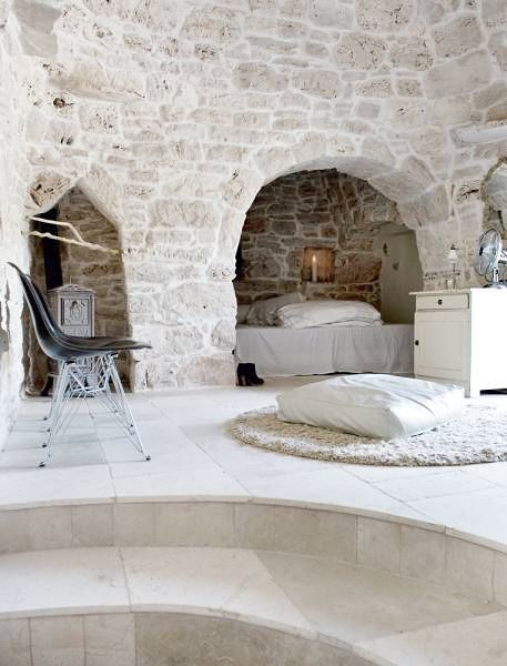 !!!!: Stones Wall, Home Design Decor, Caves, Interiors Design, Dreams House, Home Decor, Italian Interiors, Nooks, Stones House
