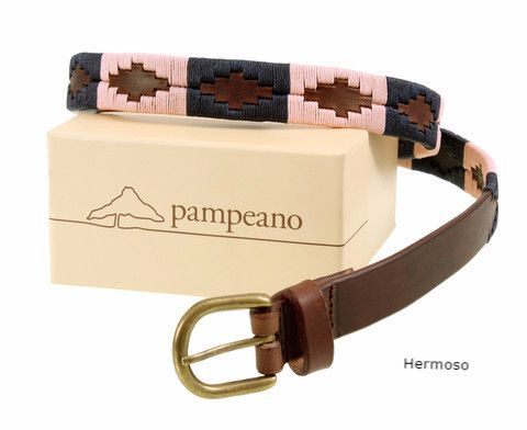 Pampeano Hermoso skinny polo belt, also available in regular width.
