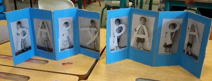 cadeau de fête des pères - la maternelle de Camille