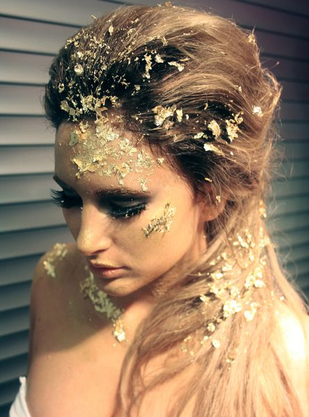 79au Metallic Yellow Gold I Love Pinterest Makeup Halloween