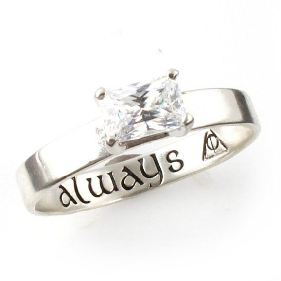harry potter engagement ring harry potter wedding ideas httpemmalinebride - Wedding Ring Engraving Ideas