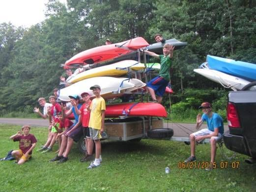 8 Place Canoe & Tandem Kayak Trailers for Sale | Remackel Trailers