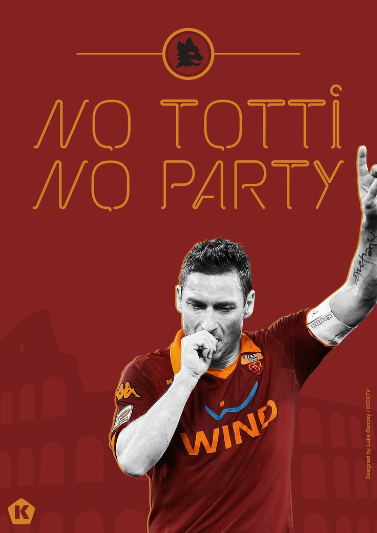 Derby of Rome no. 29 for Francesco Totti.