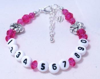 What a great idea!  Finlee & Me - Girls - Emergency ID Bracelets. Brisbane, Queensland, Australia  #theorganisedhousewife