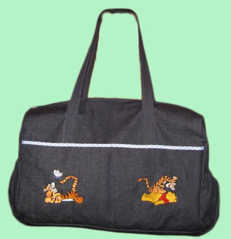 Another baby bag with pooh designs