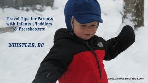 Simple Travel Tips for Parents: Whistler, BC