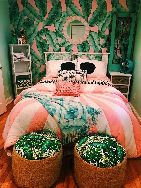Vsco Bmecca14 Bedroom Themes Dorm Room Designs Tropical Bedrooms
