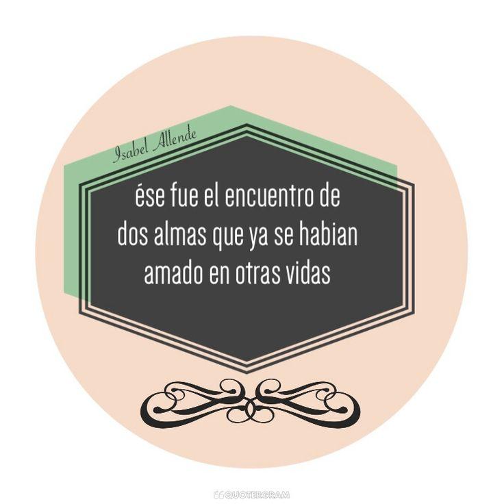 Amor//Isabel Allende