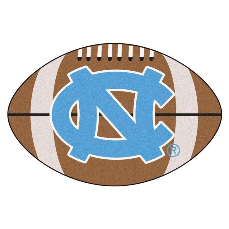 Ncaa University of North Carolina Chapel Hill NC Logo Brown 1 ft. 10 in. x 2 ft. 11 in. Specialty Accent Rug