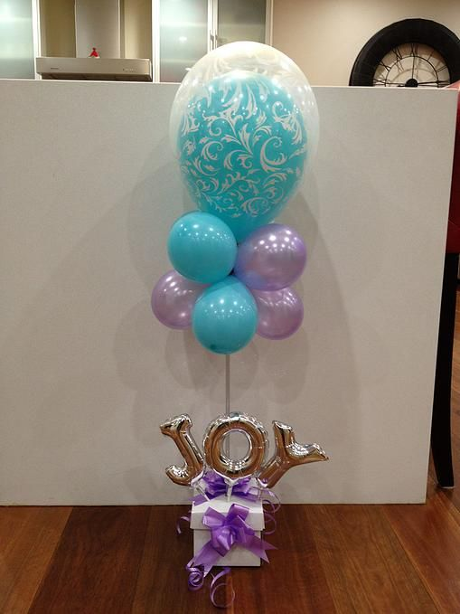 Communion & Christening Party Balloon Decorations in Sydney. balloonart.com.au