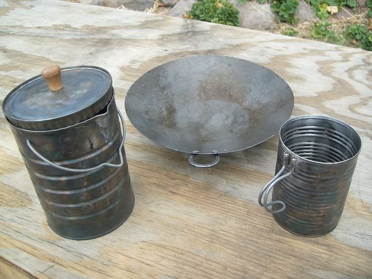 Tin Can Cookware in Metal Working Forum