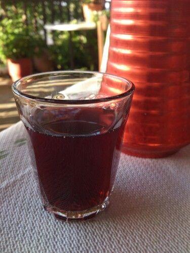 Wine from Ikaria island