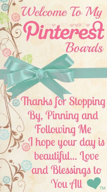 Come follow me on Pinterest!! ~Debbie ❤  http://www.pinterest.com/queenbee1924/   via So glad you stopped by! ~