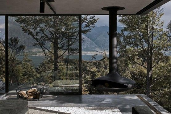 Lake Wakatipu Mountain retreat in Queenstown, New Zealand by Fearon Hay Architects
