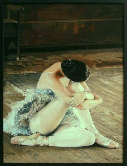 Bailarina  (De hecho es pintura jjaja)