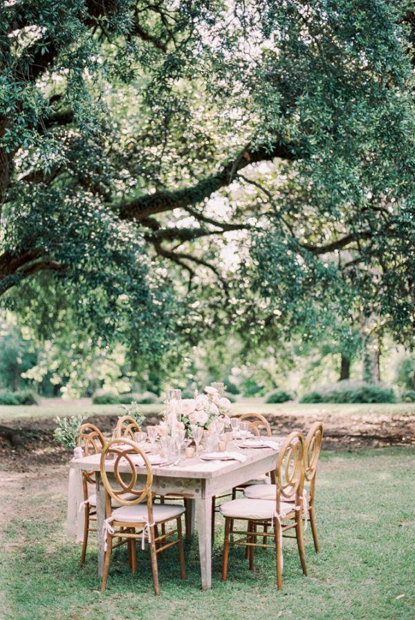 Romantic outdoor reception    #weddings #weddingideas #aislesociety  #rusticwedding