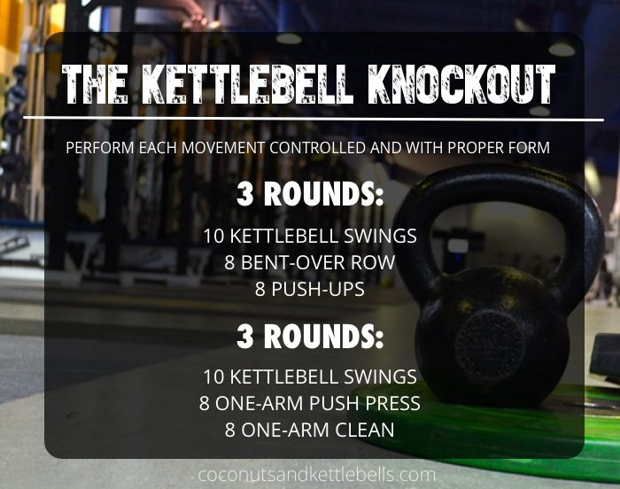 The Kettlebell Knockout