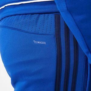 a schalke 04 entrenamiento pantalones azul hombre adidas