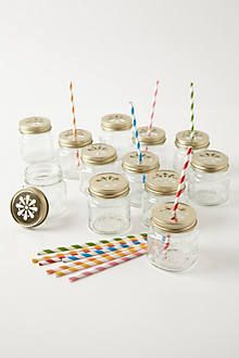 These are adorable and perfect for pre-made welcome beverages for parties or events. #anthropologie #pintowin