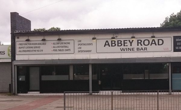 Abbey Road Wine Bar  Stonebridge Lane, Croxteth,