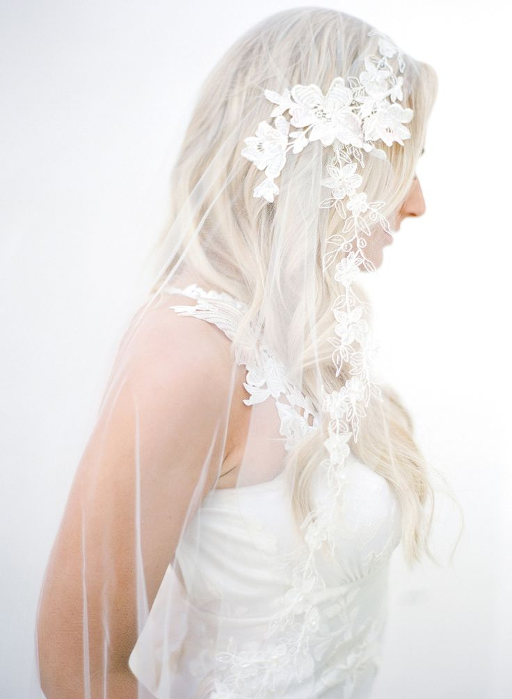 935 best veils images on pinterest veil veils and for Wedding dress with veil