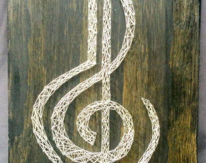 Música del arte de la cadena de corazón