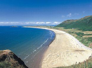 Llangenith Beach, Gower, Wales