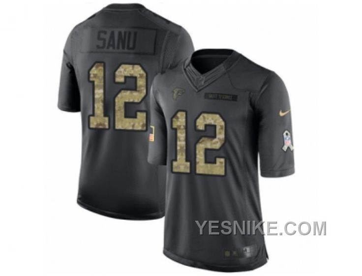 http://www.yesnike.com/big-discount-66-off-mens-nike-atlanta-falcons-12-mohamed-sanu-limited-black-2016-salute-to-service-nfl-jersey.html BIG DISCOUNT! 66% OFF! MEN'S NIKE ATLANTA FALCONS #12 MOHAMED SANU LIMITED BLACK 2016 SALUTE TO SERVICE NFL JERSEY Only $28.00 , Free Shipping!
