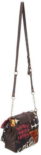 (Spain) - Compre Nuevo: EUR 69,00  - Zapatos: Desigual Bols_Cadena Patch Night 28X50726046U - Bolso de hombro para mujer, color marrón, talla 27x25x14 cm