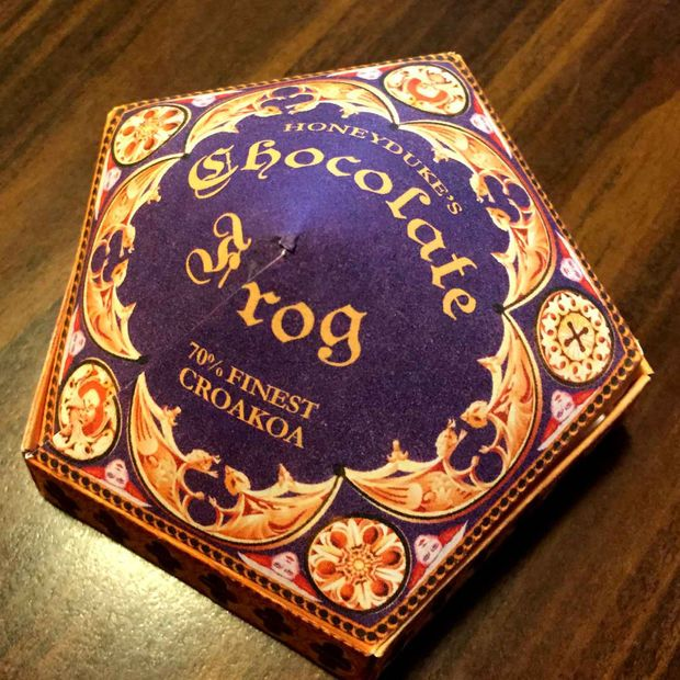 Picture of Honeyduke's Chocolate Frog Box