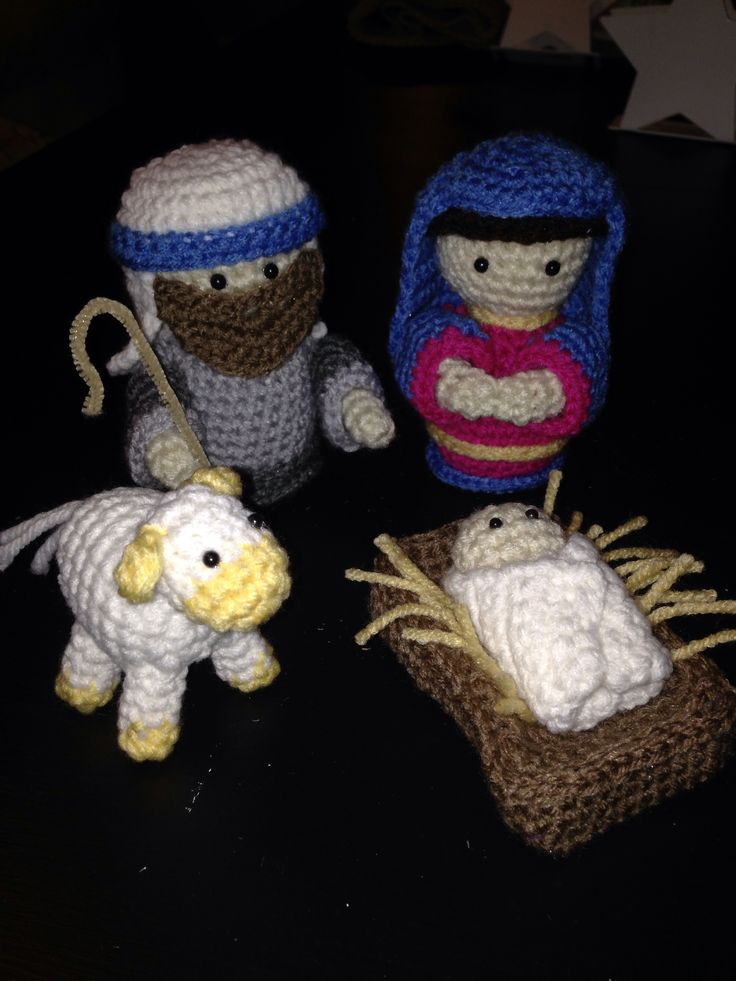 Crochet Nativity Set Pattern by Gourmet Crochet and can be ...