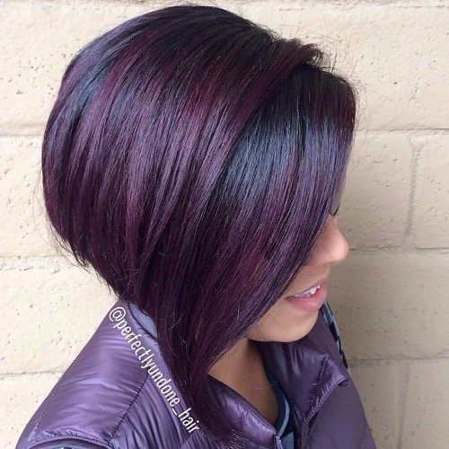 Best 25 dark purple highlights ideas on pinterest dark purple its all the rage mahogany hair color pmusecretfo Images