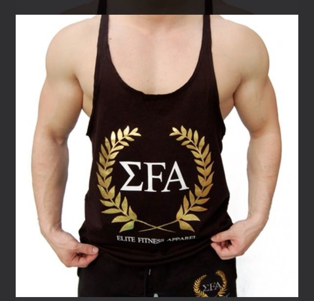 Elite Stringer - £13.99  Our first product. A clean, aesthetic look and a real stand out product in the gym.