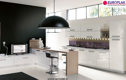 Europlak's Status kitchen is for the people who prefer pure and simple forms to create a home of restrained modernity. Status reflect's the colors combined with stainless steel.Europlak's Status is available in more than 40 color options to suit your style and taste. http://www.europlak.in/