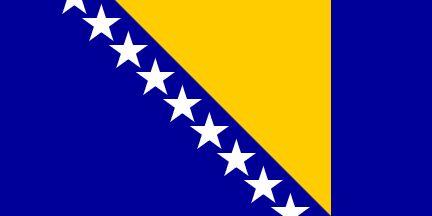 [Flag of Bosnia and Herzegovina]